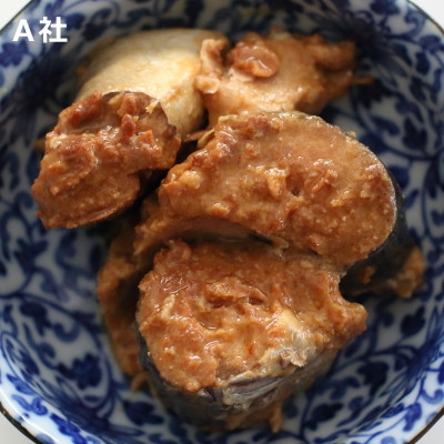 他社 サバの味噌煮 中身