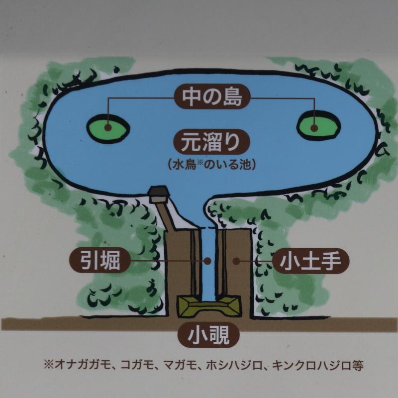 鴨場の構造