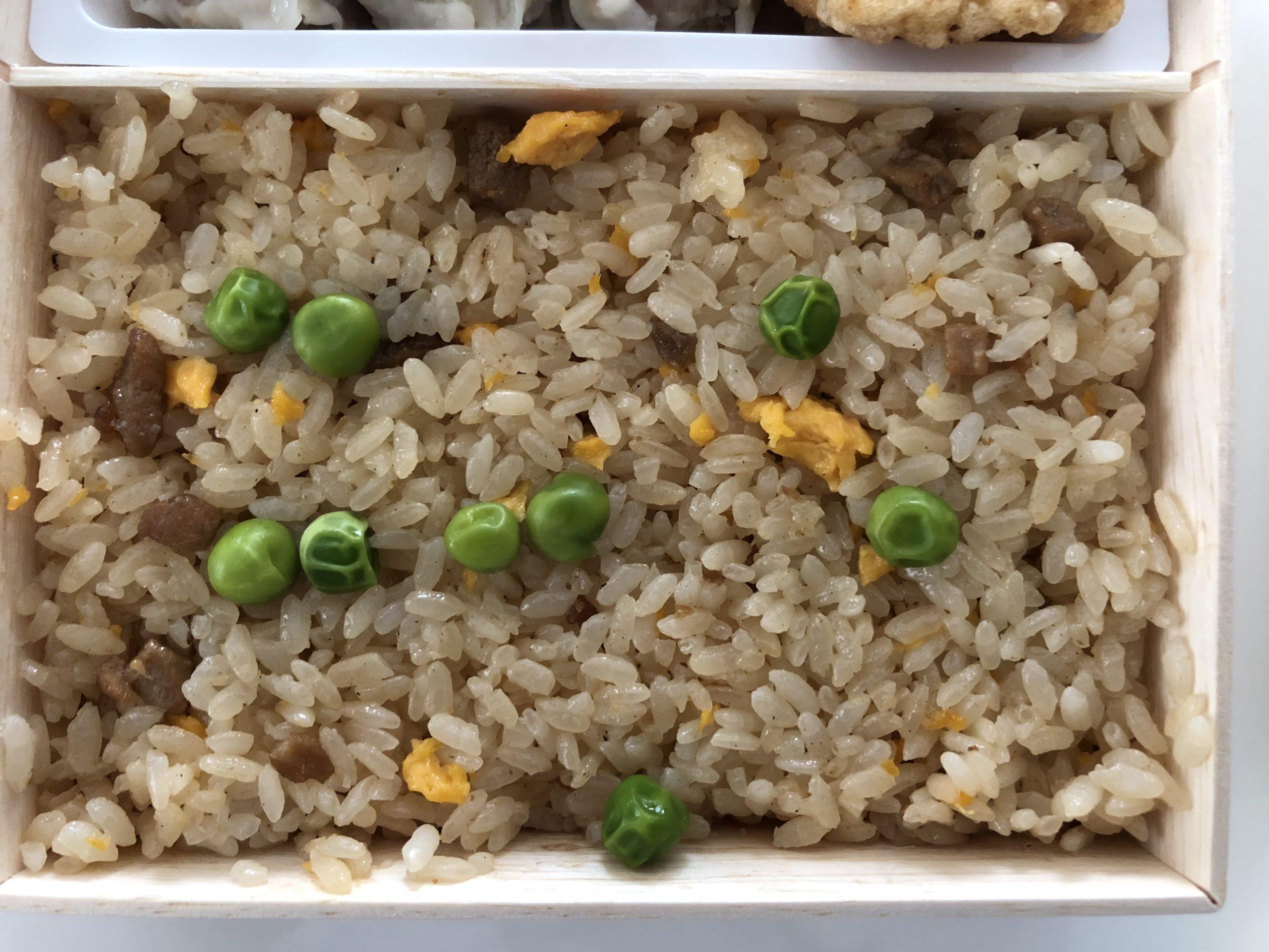 崎陽軒の「炒飯弁当」の炒飯